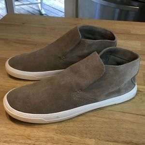 Dolce Vida Slip-On Suede Ankle Boots